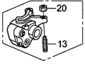 Acura 14620-R71-A01 Arm Assy., In.  коромысло