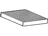 Acura TLX Cabin Air Filter - 80292-TZ3-A41