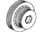 Acura CL Crankshaft Pulley - 13810-PEA-007