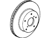 Acura TL Brake Disc - 45251-S2H-N00