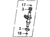 Acura CL Fuel Injector - 06164-P8E-A00