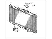 Acura CL Radiator - 19010-P0H-A51