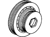 Acura CL Crankshaft Pulley - 13810-P0A-003