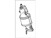 Acura Catalytic Converter - 18190-RCA-L00