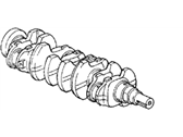 Acura CL Crankshaft - 13310-P0A-000