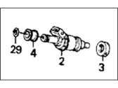Acura Integra Fuel Injector - 06164-PJ0-L00