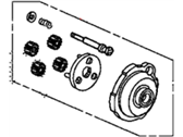 Acura 31220-R40-A01 Gear Set, Reduction