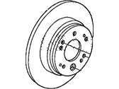 Acura TL Brake Disc - 42510-SCV-A00