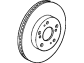 Acura Integra Brake Disc - 45251-SZ3-000
