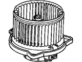Acura Blower Motor - 79310-S84-A01