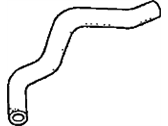 Acura CL Cooling Hose - 19501-P8C-A00
