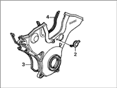 Acura CL Timing Cover - 11810-P8A-A00