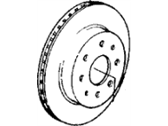 Acura Integra Brake Disc - 45251-SB2-780