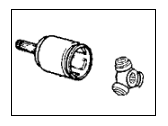 Acura CL CV Joint - 44310-SK7-J12