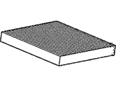 Acura TSX Cabin Air Filter - 80292-SWA-A01