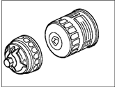 Acura 15400-PR3-305 Cartridge Set, Oil Filter (Toyo Roki)