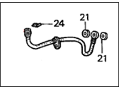 Acura Integra Brake Line - 01468-S04-900