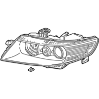 Acura Headlight - 33101-SEC-A62