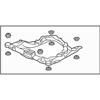 Acura Front Cross-Member - 50100-SJA-A01