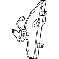 Acura RL Window Regulator Guaranteed Genuine Acura Parts - Acura rl window regulator