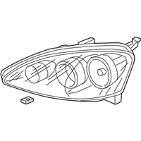 Acura Headlight - 33101-S6M-A51