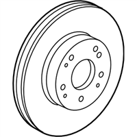 Acura Brake Disc - 45251-TX4-A01