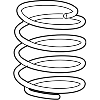 Acura ILX Coil Springs - 51401-T3R-A03