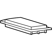 17220-RWC-A00 - Genuine Acura Element Assy., Air Cleaner