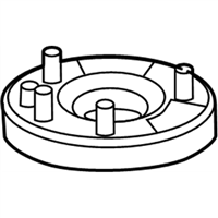 Acura Shock And Strut Mount - 51675-SEP-A03