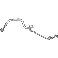 Acura Power Steering Hose - 53713-S6M-A04