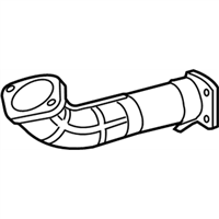 Acura TSX Exhaust Pipe - 18210-TA0-A12