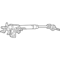 Acura TL Steering Column - 53200-S3M-A03