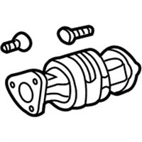 Acura TL Catalytic Converter - 18160-RK2-A00