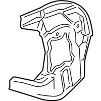 2011 Acura RL Brake Dust Shields