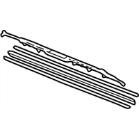 Acura TL Windshield Wiper - 76620-S0K-A01