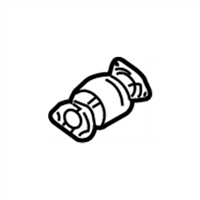 Acura Catalytic Converter - 18160-RYE-A00