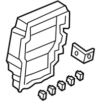 acura rl fuse box - 38200-sja-a03