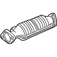 Acura Integra Catalytic Converter - 18160-P72-A30