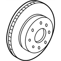 Acura Brake Disc - 45251-SEP-A51